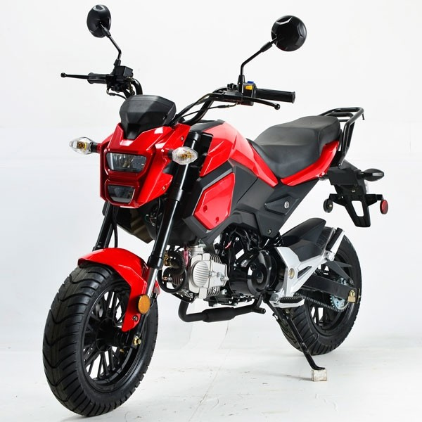 Boom 125cc Motorcycle Type125 10 With 12 Inch Wheels Motorcycles Redfoxpowersports
