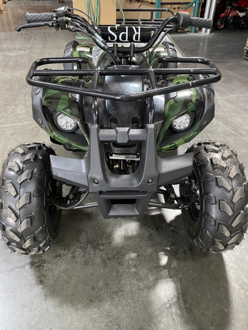 125cc Gas ATV Mid Size, Automatic/w Reverse, Big 18/19inch Tire, Utility Style Body (Brand NEW, Open Box, Ready to Ride, SELL AS IS)
