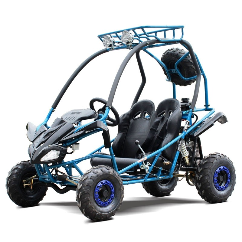 125cc Kids Go Kart Type-GKS, Automatic w/ Reverse, Spare Wheel