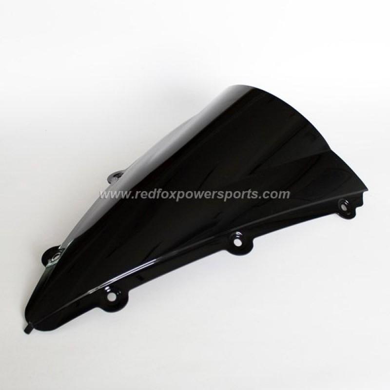 Black ABS Windshield Windscreen for YAMAHA R1 2004-2006