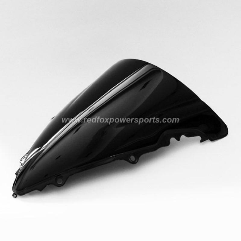 Black ABS Windshield Windscreen for YAMAHA R1 2009