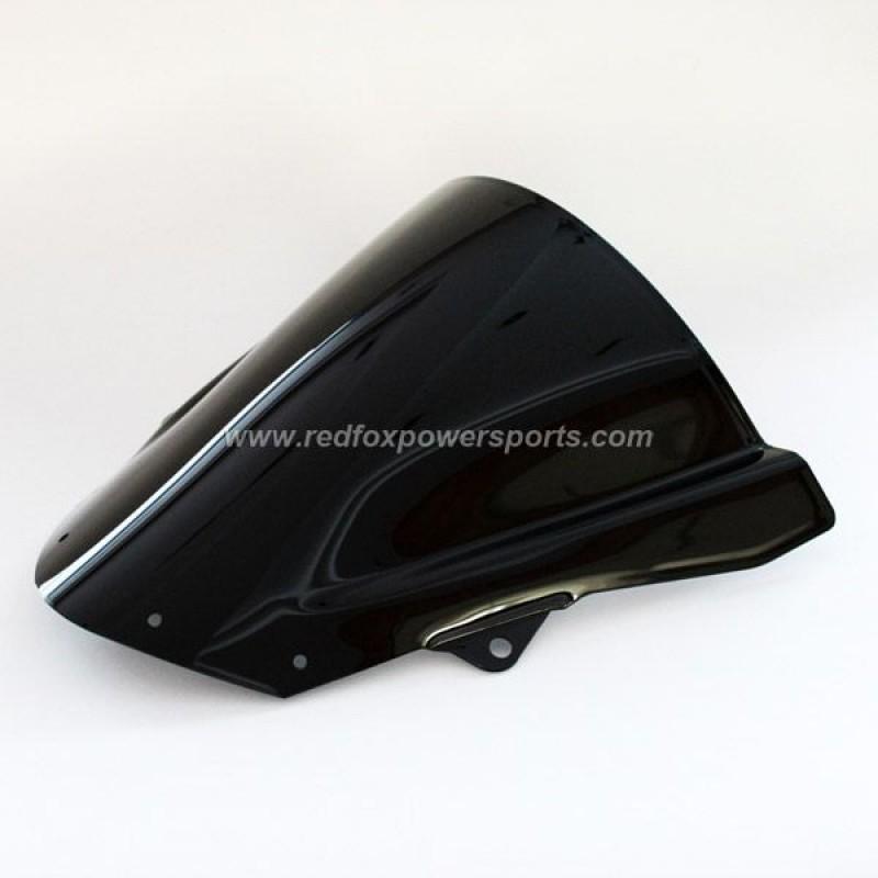 Black ABS Windshield Windscreen for ZX10R 2008-2009 ZX- 6R 2009-2010