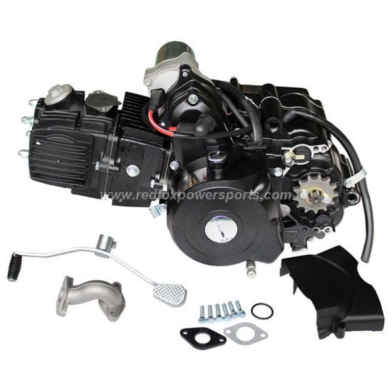 110CC 4 Stroke 3 Speed Auto With Reverse Engine Motor for ATV GOKART 3+1