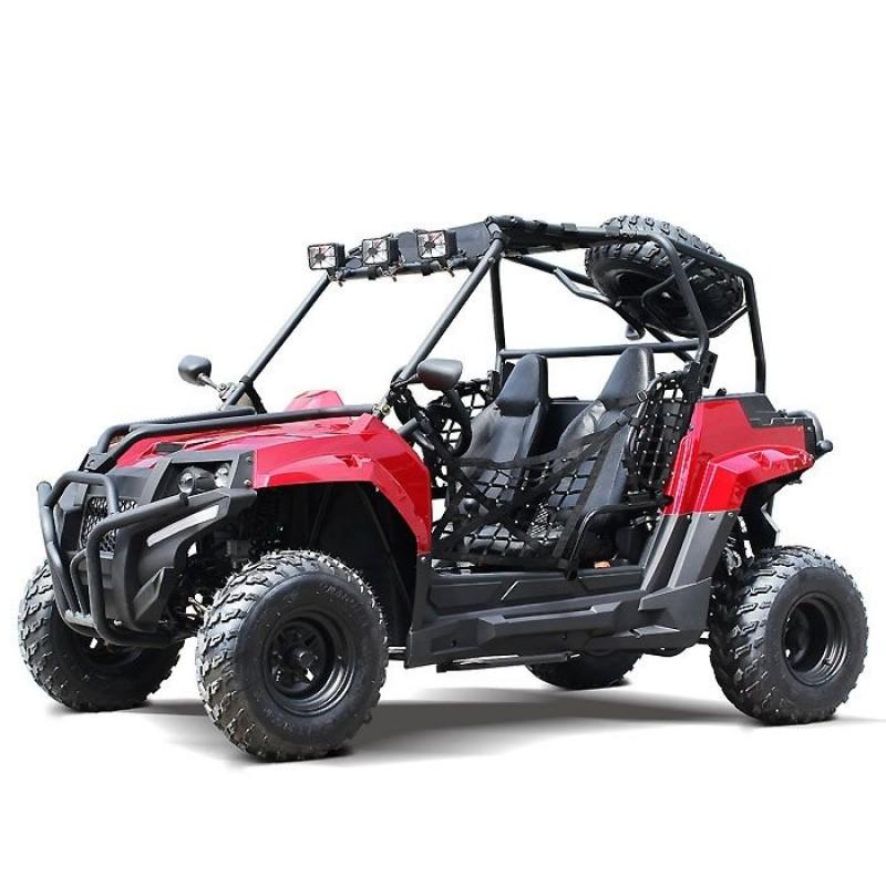 200cc DF GKV-N Full Adult Gas UTV Go-Kart side by side with Auto tranny w/ reverse