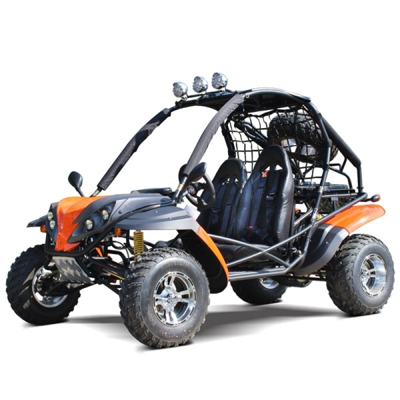 200cc DF GKR Fully Loaded Adult Gas Go-kart with Auto Tranny w/ Reverse
