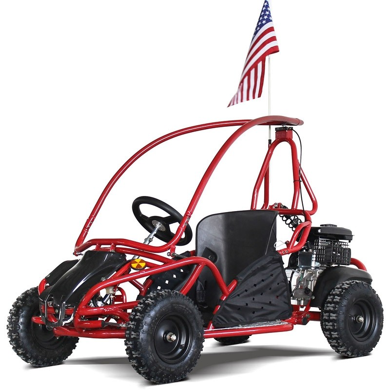 Kids Gokart 80GKS, full roll cage, rear suspension, disc brake