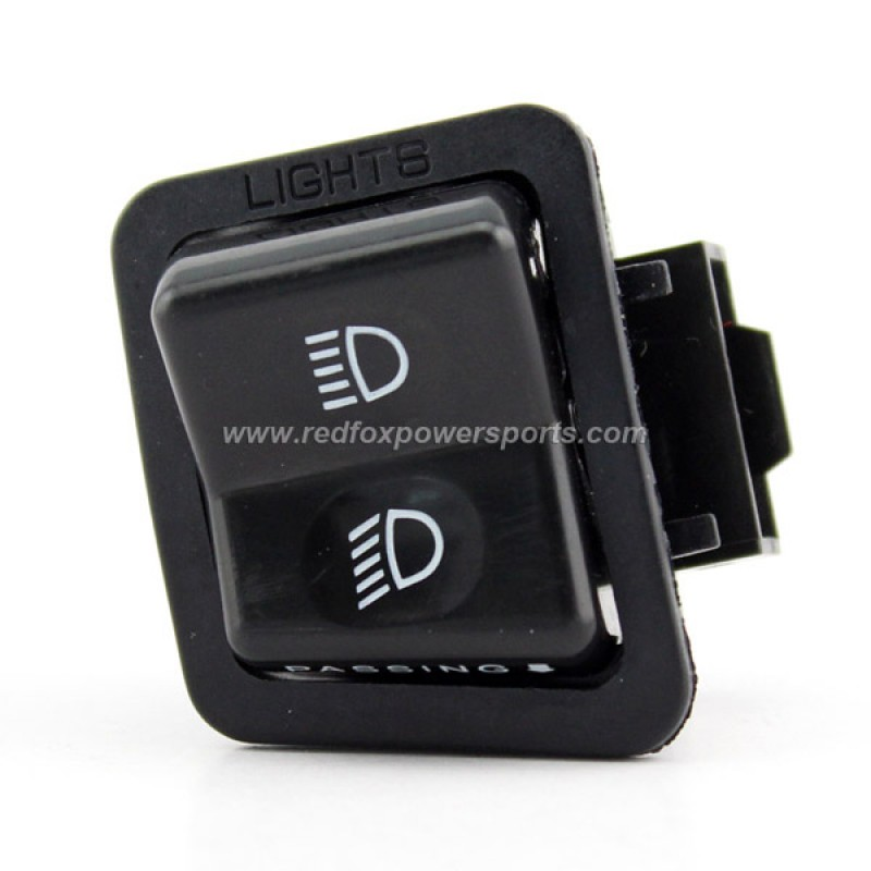 High Low Beam Switch Button Fits for GY6 150cc Moped Scooter Motorcycle