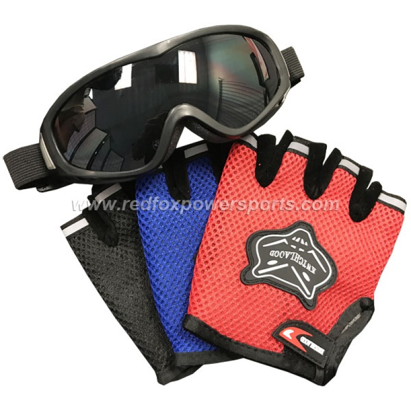 Racing Goggles and Gloves Kit