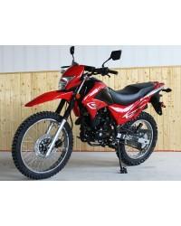 250cc Pro-Hawk Enduro Bike with 5-speed Manual and Electric/Kick Start, Street Legal, Big Wheel