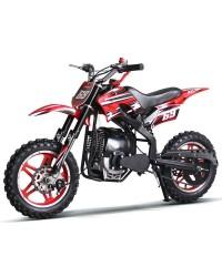 50cc Dirt Bike KDB-001 Kids Dirt Bike 4 Stroke Engine with big 10inch Aluminum Wheel