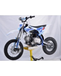 110cc Dirt Bike RF ZOOME S3-110 with Semi-automatic 4 Speed, F14/R12 Wheel, Cradle Type Steel Tube Frame, Inverted Fork