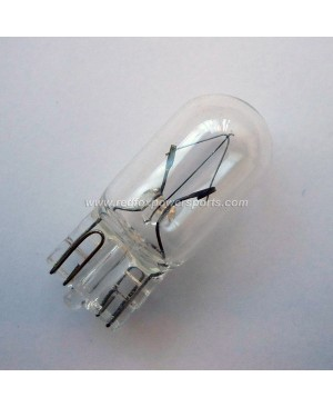12V3W Light Bulb Plug-in for Moped Scooter Motorcycle Bike ATV GO-KART