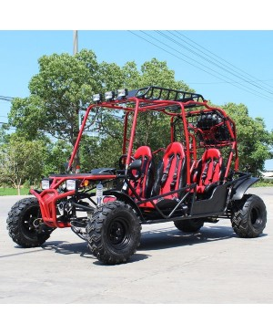 200cc Adult Gas Go-Kart 4 Seater DF GHG with Auto Tranny/Reverse Gear