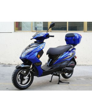 200cc Gas Moped Scooter Super 200, Automatic CVT Big Power Engine, Sporty Style