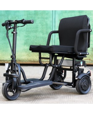 350W Portable folding Electric Mobility Scooter with lithium Battery , Easy to ride and carry