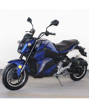 50cc Gas Motorcycle DF SVT with CVT Auto Tranny, Aluminum Wheels