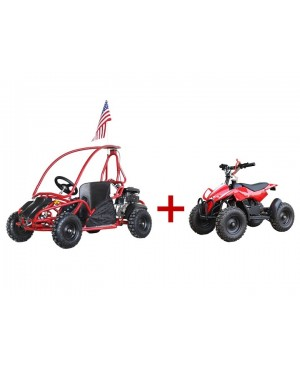 Kids Gokart 80GKS + FREE Kid's 50cc ATV (Save over $300)
