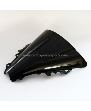 Black ABS Windshield Windscreen for Yamaha R6 2006-2007
