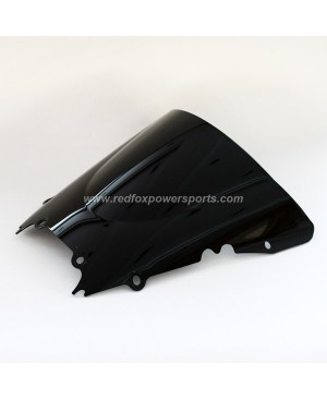 Black ABS Windshield Windscreen for YAMAHA R6 1998-2002