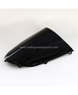 Black ABS Windshield Windscreen for Kawasaki ZX10R 2004