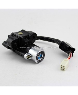 Jonway Ignition Key Switch Set for GY6 50-150cc Moped Scooter