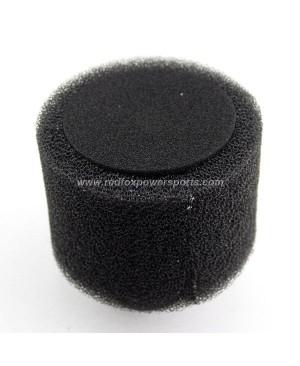 Black 35mm Bent Foam Air Filter Cleaner for 110cc Quad Dirt Bike ATV Buggy