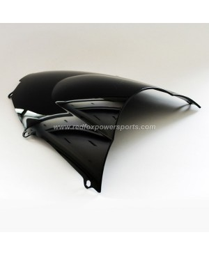 Black ABS Windshield Windscreen for Kawasaki ZX-9R 2000-2005 01 02 03 04