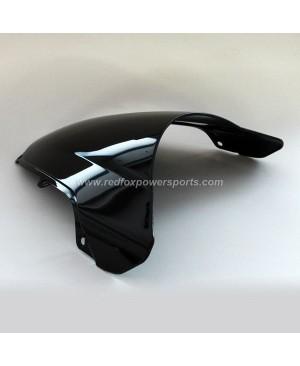 Black ABS Windshield Windscreen for HONDA CBR600RR F41