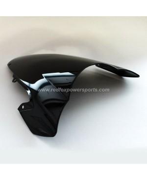 Black ABS Windshield Windscreen for SUZUKI GSX-R1000 03-04