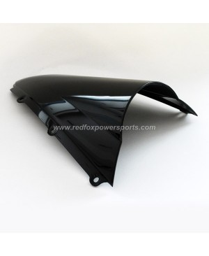 Black ABS Windshield Windscreen for Yamaha YZF R1 2000-2001