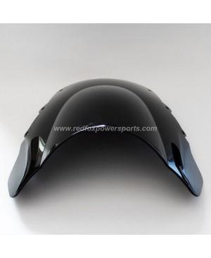 Black ABS Windshield Windscreen for HONDA CBR1100XX 97-09 BLACK DIRD