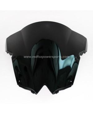Black ABS Windshield Windscreen for Yamaha YZF R6 2008-2009