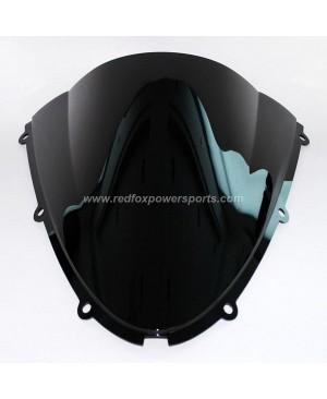 Black ABS Windshield Windscreen for Kawasaki ZX6R 05-08