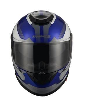 AH16- Blue white