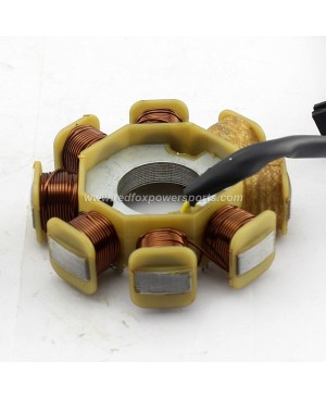 New Magneto Stator Coil 8 Pole for GY6 50cc Moped Scooter Motorcycle Bike ATV GO-KART