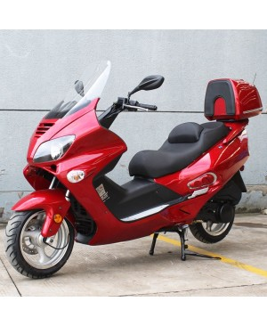 200cc Scooter Touring STG-A with 13 inch Aluminum Wheel, Big Touring Body, Helix Clone Look