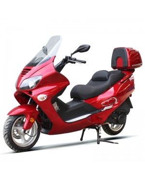 200cc Scooter Touring STG-A with 13 inch Aluminum Wheel, Big Touring Body,  Helix Clone Look (Open Box, SELL AS IS)