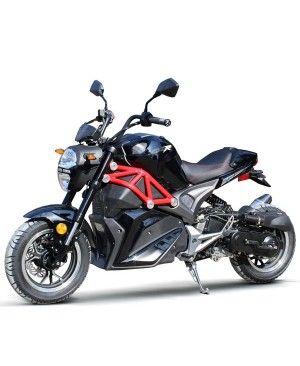 50cc Gas Motorcycle DF SRT with CVT Auto Tranny, Aluminum Wheels