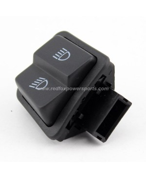 High Low Beam Switch Button Fits for GY6 50cc 150cc Moped Scooter Motorcycle