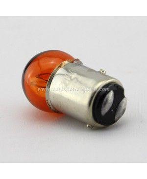 R12V10W Orange Turn Signal Light Bulb for Moped Scooter Motorcycle Bike ATV GO-KART
