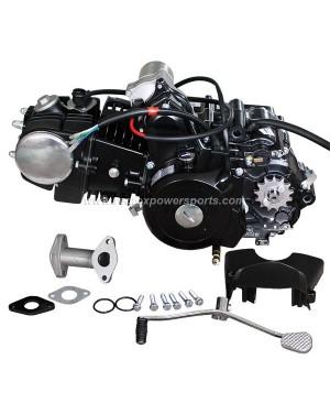 125CC 4 Stroke 3 Speed Auto With Reverse Engine Motor for ATV GOKART 3+1
