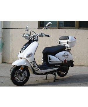 200cc Gas Moped Scooter Vestalian Vespa Style, CVT Big Power Engine, Wide Handle Bar